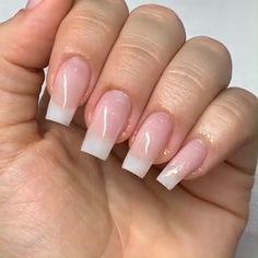 35 trendy short coffin nails designs page 23 Cute Acrylic Nails, Acrylic Nail Designs, Cute Nails, Nail Art Designs, My Nails, Diva Nails, Pretty Nails, Uv Gel Nails, Shellac