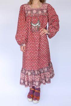 Vintage Indiase hippie jurk available at www.secondhandnew.nl