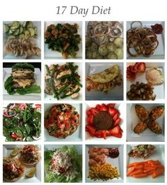 My 17 day diet meals ♥