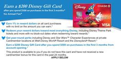No Annual Fee Disney Visa Offer