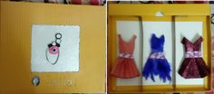 Paper Wardrobe(collection of three different dresses made of paper...................