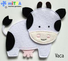 Vaca fieltro