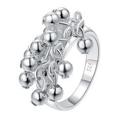 Купить Серебряные бусины Оптовой Продажи 925 ювелирных изделий посеребренные…