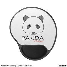 Panda Dreamer Gel Mouse Pad