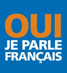 OUI, on parle français! French Words, French Quotes, French Teacher, Teaching French, How To Speak French, Learn French, Pays Francophone, French Days, French Classroom