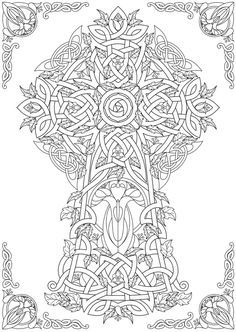 Welcome to Dover Publications From: Creative Haven Deluxe Edition Celtic Nature Coloring Book More Make your world more colorful with free printable coloring pages from italks. Our free coloring pages for adults and kids. Coloring Pages Nature, Adult Coloring Book Pages, Coloring Pages To Print, Mandala Coloring, Free Coloring Pages, Printable Coloring Pages, Coloring Books, Mandalas Painting, Mandalas Drawing