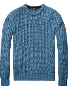 Chunky Knit Pullover | Pullovers | Men Clothing at Scotch & Soda