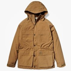 Carhartt Mosley Jacket Carhartt Brown