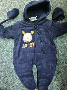 £4.99 Cosy Padded Snowsuit Brand New 3-6m #NX #babyboysclothes #winterclothesforboys