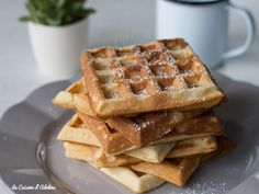 Breakfast Recipes, Dessert Recipes, Sweet Recipes, Healthy Recipes, Beignets, Crepes, Adeline, Biscuits, Waffles