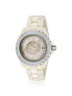 Swiss Legend Women's 20051-BGWSR Karamica Diamond Beige Watch