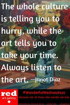 Listen to art.