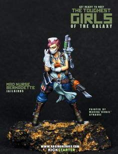 Raging Heroes - The Toughest Girls of the Galaxy by Loud'n Raging — Kickstarter