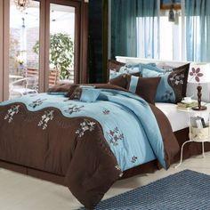 Blue And Brown Bedroom Set wonderful blue and brown bedroom set luxury bedding gianna n on