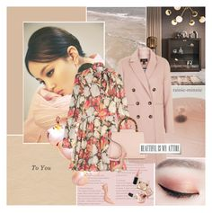 """""""Longing for Spring"""" by rainie-minnie ❤ liked on Polyvore featuring Topshop, RED Valentino, Gucci, Casadei, Stila and MAC Cosmetics"""