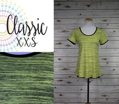 LuLaRoe Classic T is sure to become a wardrobe staple as the perfect compliment to all your LuLaRoe skirts and leggings. The Classic T is made from comfortable spun polyester jersey and is short sleeved with a high round neck line. The Classic T is sure to become an essential foundational piece for a truly phenomenal wardrobe. LuLaRoe LuLaRoeClassicT LuLaRoeHarmonyPackard LuLaRoeHPack https://www.facebook.com/Lularoeharmonypackard/