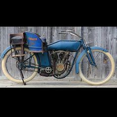 1914 Emblem Motorcycle- more antique motorcycles at http://blog.lightningcustoms.com/antique-motorcycles-color-pictures/  #antiquemotorcycles