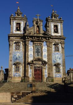 Church of Saint Ildefonso, an 18th c. church in Porto, Portugal by panoround