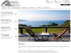 Hotel Gametxo. El Sr. Gabikagogeaskoa lo tenía claro - si la mayoría de los clientes encuentran su alojamiento en la web, y de siempre se ha dicho que la primera impresión es la más importante: web bonita = mas clientes...