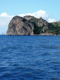 The Bluest Water on the Boat to Capri