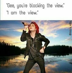 Read Gerard jokes from the story MCR and Frerard/MEMES and PICTURES by Igotsoemo_ifellapart (FunGhoul) with 767 reads. Emo Band Memes, Mcr Memes, Emo Bands, Music Bands, Emo Meme, Funny Memes, He's Mine, My Chemical Romance Memes, Black Parade