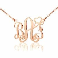 Get Name Necklace is a company to custom personalized monogram necklace and pendants fastest & easiest, Shop our selection here! http://www.getnamenecklace.com/monogram-necklace