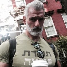 15 Stunning Silver Foxes That Will Awaken Your Inner Thirst