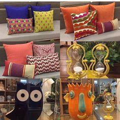 Escolha da profissional @nayararochainteriores para casa da sua cliente. Amamos cores e alegria venha sempre nos prestigiar! ABS