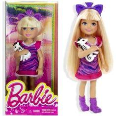 Barbie Destination Chelsea Doll & Zebra