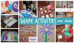 Toddler Approved!: 25+ Shape Activities and Crafts for Kids
