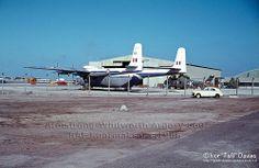 Armstrong-Whitworth Argosy AW660 C.1 Reg. XN819/819 at RAF Khormaksar