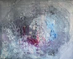 "Saatchi Online Artist Anna Bergin; Painting, ""View From the Window (the clouds roll in)"" #art"