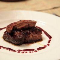 Steak With Seared Foie Gras Recipe
