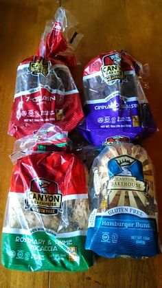 Don't Give Up Bread Just Because of a Gluten Allergy...Instead Reach for Canyon Gluten Free Bakehouse Breads (Review) | Inspired by Savannah... Bread Brands, Hamburger Buns, Don't Give Up, Holiday Gift Guide, Savannah, Giveaways, Allergies, Breads, Snack Recipes