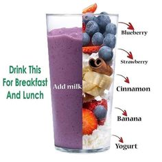Weight Loss Drinks, Weight Loss Meal Plan, Weight Loss Smoothies, Healthy Weight Loss, Fat Burning Smoothies, Easy Smoothie Recipes, Easy Smoothies, Detox Smoothies, Easy Recipes