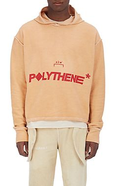 "We Adore: The ""Polythene*"" Cotton Hoodie from A-COLD-WALL* at Barneys New York"