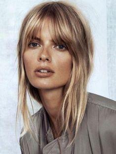 Image result for short fringe blonde
