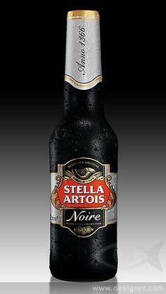 Pierini Creates Packaging for Stella Artois Noire
