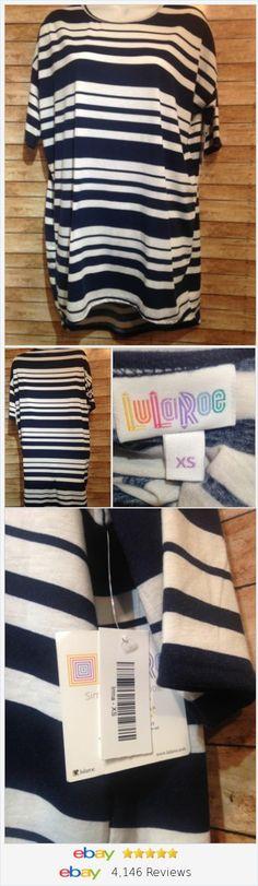 Lularoe Striped Irma Size XS  | eBay #lularoe #lula #irma