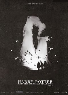 Spooky HP poster: why cantt Americas posters be this awesome!