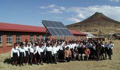Impulsar las energías renovables en zonas marginadas.