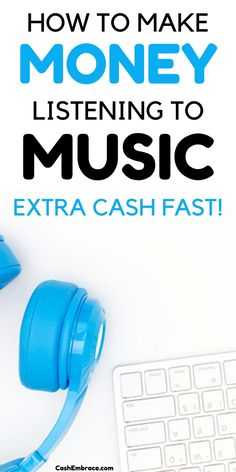 Get paid to listen to music: how to make money listening to your favorite tracks. Extra income ideas for music lovers. Earn extra cash listening to music!#getpaidtolistentomusic#makemoneyonline#extraincomeideas#makeextracash#earncashfast#makemoneyfree Cash From Home, Make Money From Home, Way To Make Money, Make Money Online, How To Make, Earn Extra Cash, Extra Money, Online Income, Marketing Ideas