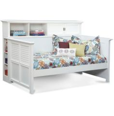 Daybed With Bookcase | Youth Bedroom | Bedrooms | Art Van Furniture - Michigan's Furniture Leader
