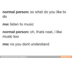 No, you don't understand