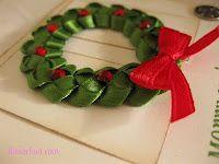 Christmas Wreath Hairbow Tutorial