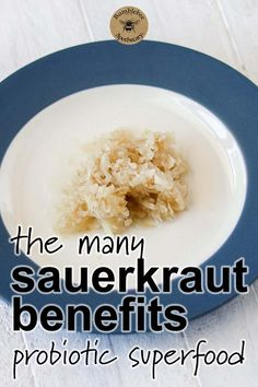 Health benefits for your immune system from eating raw fermented sauerkraut. #healthandfitness #nutrition #healthyrecipes