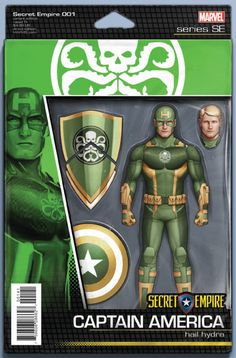 SECRET EMPIRE #1 (OF 9) CHRISTOPHER ACTION FIGURE VAR