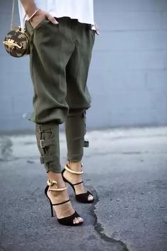 On trend/ casual/ glam/ street style