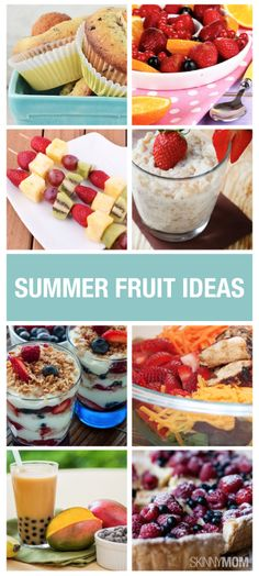 Revamp your fruit options for dinner and try one of these ways instead!  Read more for recipes!
