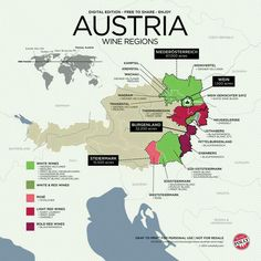 Austria wine regions